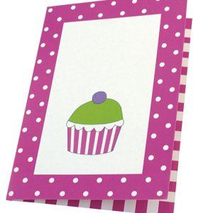 Einladungskarten Set pink