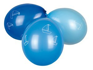 Luftballonset blau